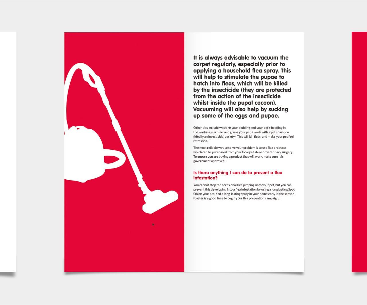 FIPROtec Booklet Design for Beaphar Branding by 2idesign Graphic Design Agency Cambridge