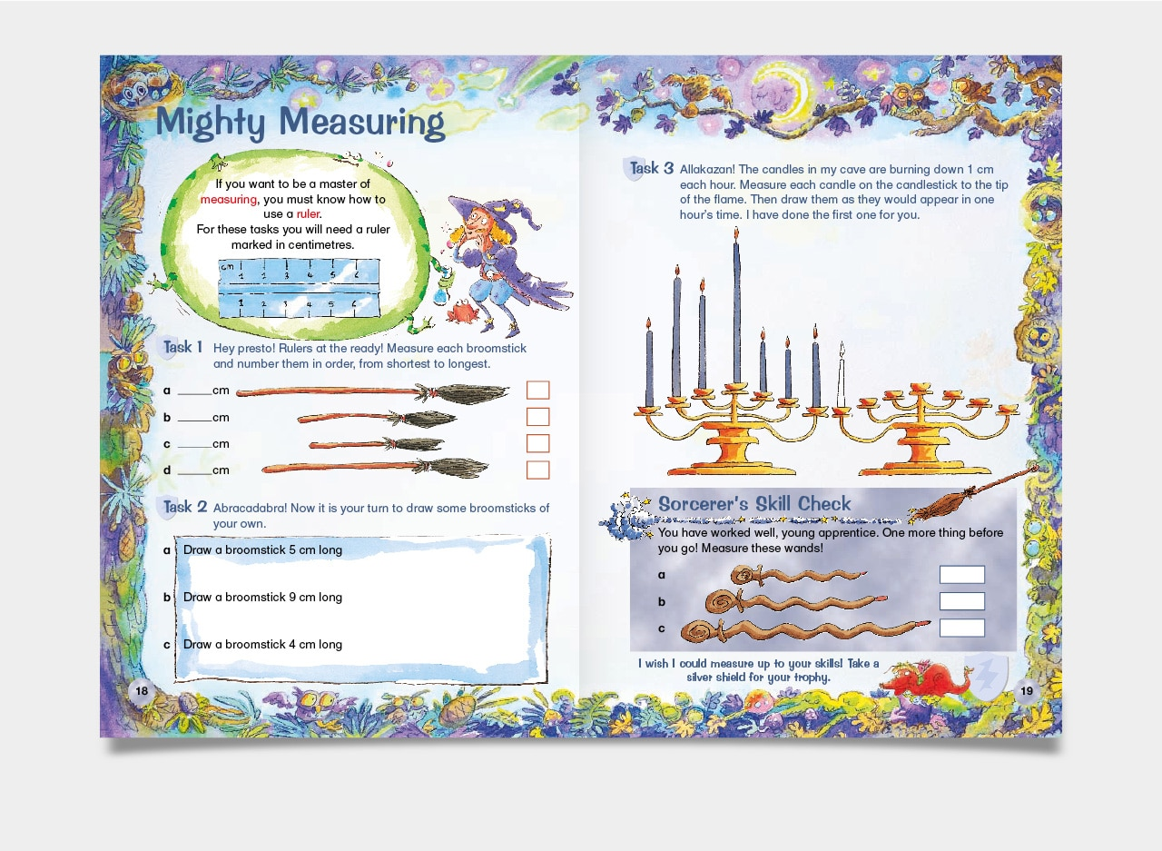 Magical Series Design for Letts Education Publishing by 2idesign Graphic Design Agency Cambridge